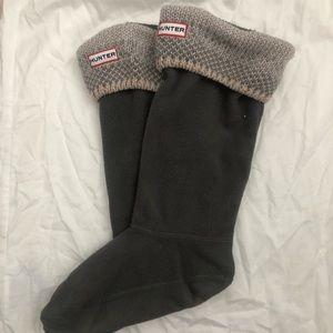 ✨ Hunter Boots Socks